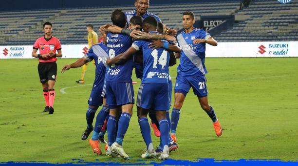 Emelec es segundo en la tabla de posiciones; consiguió tres victorias en el inicio del campeonato ecuatoriano. Foto: Twitter Emelec