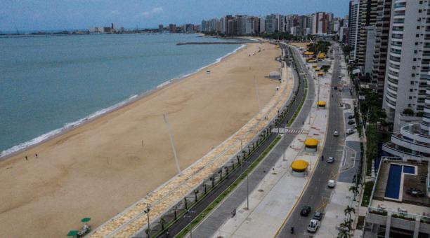 Un estudio señala que el SARS-CoV-2 probablemente circulaba sin ser detectado en Brasil desde noviembre de 2019, casi dos meses antes del primer caso notificado en América, el 21 de enero de 2020. Foto: EFE
