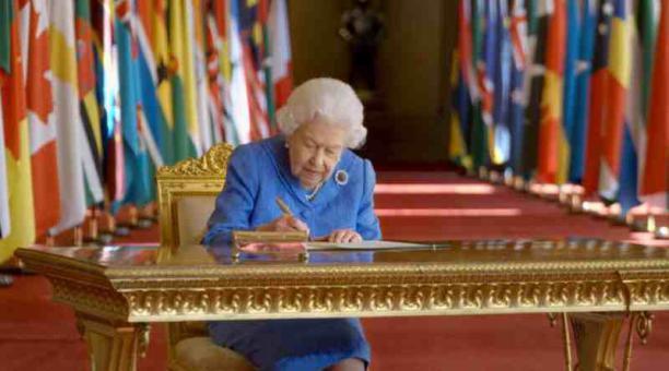 Foto referencial de la Reina Isabel II de Inglaterra. Foto: Twitter The Royal Family