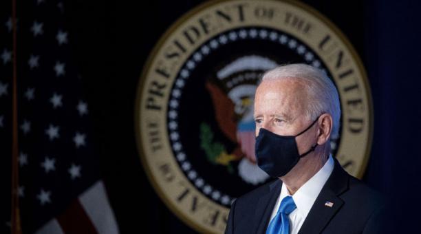 El Congreso estadounidense aprobó este 10 de marzo del 2021 el plan de rescate fiscal de Joe Biden. Foto: EFE.
