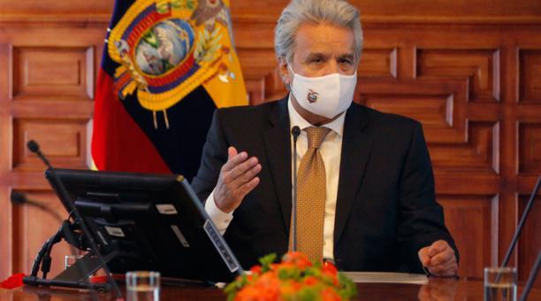 El mensaje ha sido distribuido por redes y por el grupo de periodistas en Whatsapp de la Presidencia ecuatoriana sin una atribución personal