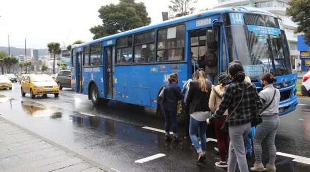 Este 11 de marzo del 2021 se inició la socialización del Plan de reestructuración de rutas del transporte público en Quito. Foto: Archivo/ EL COMERCIO.
