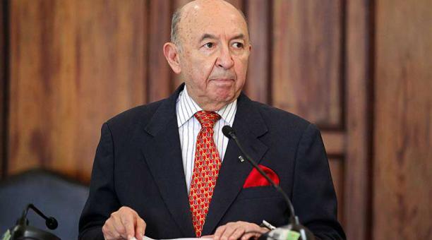 Luis Gallegos ocupó el cargo de Canciller desde el 9 de julio del 2020. Foto: archivo / EL COMERCIO