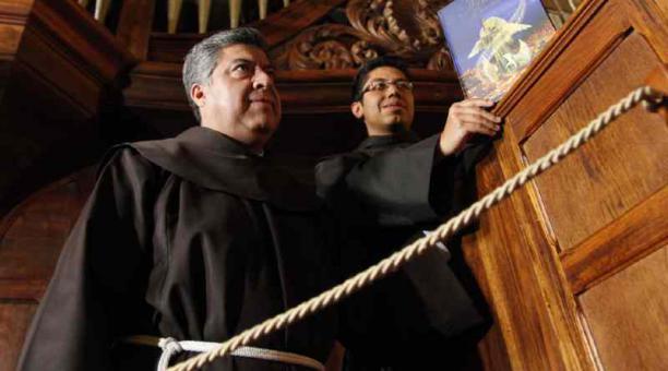 Verdezoto fue director del Centro Franciscano de Estudios Superiores Cardenal Bernardino Echeverría. Foto: Archivo/El Comercio
