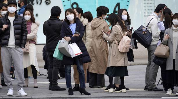 Las autoridades sanitarias de Japón han detectado una nueva variante de coronavirus en un viajero de ese país. Foto: EFE