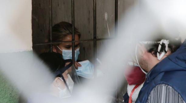 La expresidenta interina de Bolivia Jeanine Áñez fue detenida y encarcelada el sábado 13 de marzo del 2021, acusada por terrorismo. Foto: Reuters