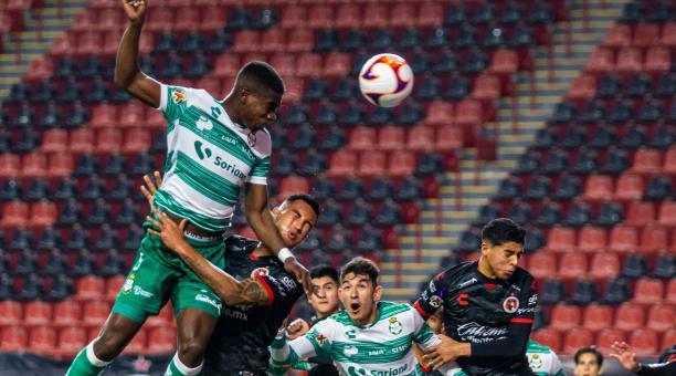 Santos logró una victoria de visitante ante Xolos de Tijuana, por una fecha más de la Liga mexicana. Tomado de Santos