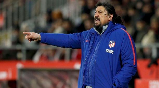 El entrenador Germán 'Mono' Burgos es nuevo DT del equipo argentino. EFE