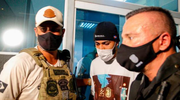El delantero Gabriel Barbosa 'Gabigol' fue detenido por LA Policía brasileña por participar en apuestas clandestinas. Foto: EFE.