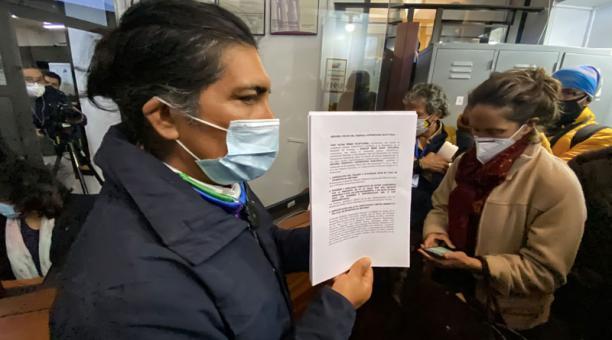 El pedido del candidato presidencial, Yaku Pérez, para abrir las urnas fue negado por el TCE. Foto: Patricio Terán/ EL COMERCIO