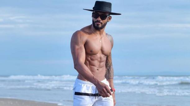 Imagen referencial: El modelo esmeraldeño Juan del Valle crea contenido en la plataforma OnlyFans. Instagram.