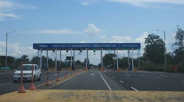 El peaje denominado Cóngoma opera oficialmente desde el domingo 14 de marzo del 2021. Foto: EL COMERCIO