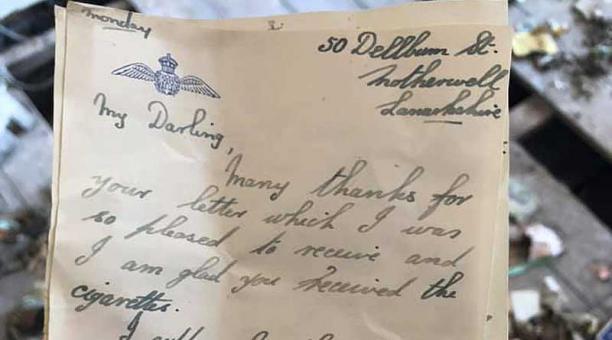 Las cartas y otros objetos fueron encontrados en el Hotel Esplanade, ubicado en Scarborough, Inglaterra, mientras se realizaban renovaciones en el lugar. Foto: Facebook Scarborough Archaeological and Historical Society