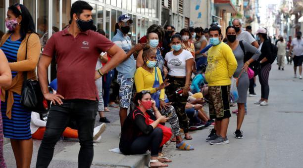 El Gobierno de Cuba aplica medidas para enfrentar la crisis energética y de alimentos que se ha agravado en la isla por la pandemia y el embargo de EE.UU. Foto: EFE