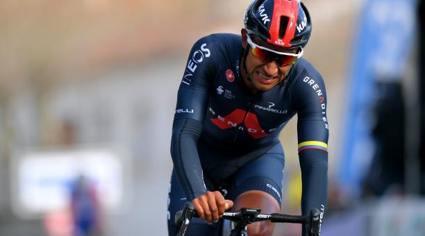 El ciclista ecuatoriano Jhonatan Narvaez comenzará la temporada este miércoles 17 de marzo. Tomado de Twitter