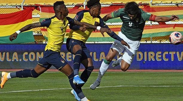 Ecuador venció 3-2 a Bolivia en La Paz. Foto: EFE