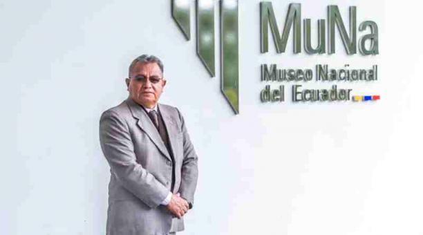 Hugo Rodríguez es el sexto director del MuNa en el gobierno de Lenín Moreno. Foto: Ministerio de Cultura.
