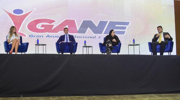Representantes del sector productivo se agrupan en el 'Gran Acuerdo Nacional Empresarial'. Foto: Cortesía