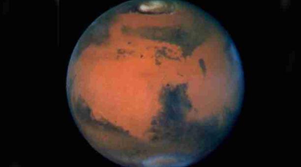 Científicos sostienen que el escape atmosférico no explica completamente la desaparición de agua en Marte. Foto: NASA.