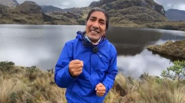 El candidato presidencial de Pachakutik, Yaku Pérez, publicó un video en redes sociales en donde dijo que no dirá a su electorado cómo votar en la segunda vuelta. Foto: Captura de pantalla