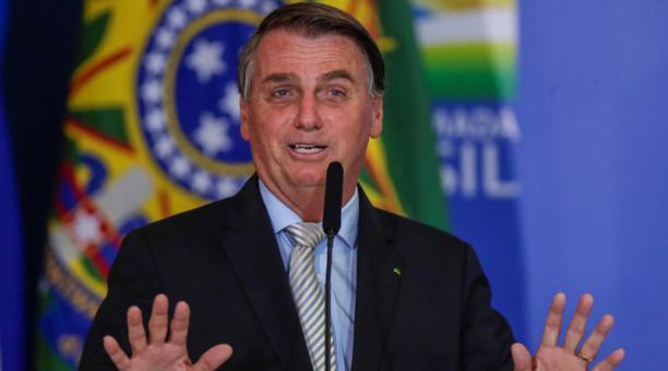 El ultraderechista Jair Bolsonaro sigue perdiendo apoyo en Brasil debido a la gestión de la pandemia del covid-19. Foto: REUTERS.