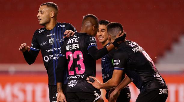 El Independiente del Valle busca su clasificación a la fase de grupos de la Copa Libertadores 2021. Foto: EFE.