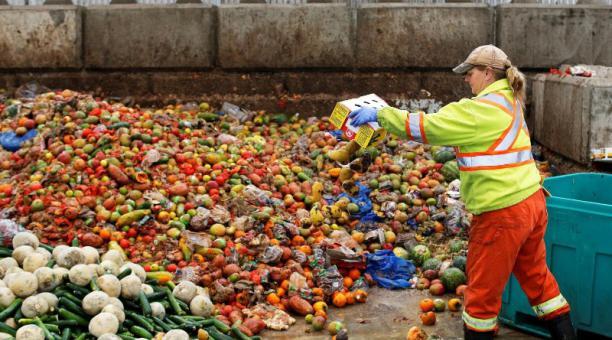 El mayor porcentaje de alimentos desperdiciados corresponde a los hogares, seguido de restaurantes y comercios. Foto: Reuters