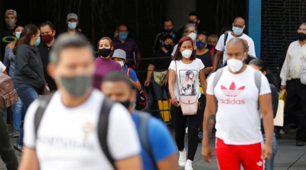 Venezuela ha registrado un aumento de casos de covid-19, con Caracas como una de las ciudades más afectadas. Foto: Reuters