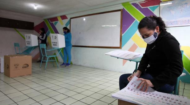 El movimiento indígena Pachakutik inició una campaña para el voto en las elecciones de segunda vuelta en Ecuador. Foto: Archivo/ EL COMERCIO