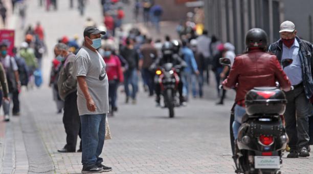 Quito es la ciudad del país con más casos de covid-19 hasta este 22 de marzo del 2021, según el informe del Ministerio de Salud. Foto: Julio Estrella/ EL COMERCIO.