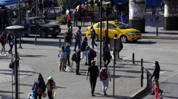Imagen referencial. El INEC publicó nuevas cifras sobre el empleo en Ecuador este 22 de marzo del 2021. Foto: Patricio Terán/ EL COMERCIO.