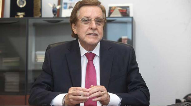 Eduardo Egas, presidente Ejecutivo de Corpei. Foto: Enrique Pesantes / EL COMERCIO