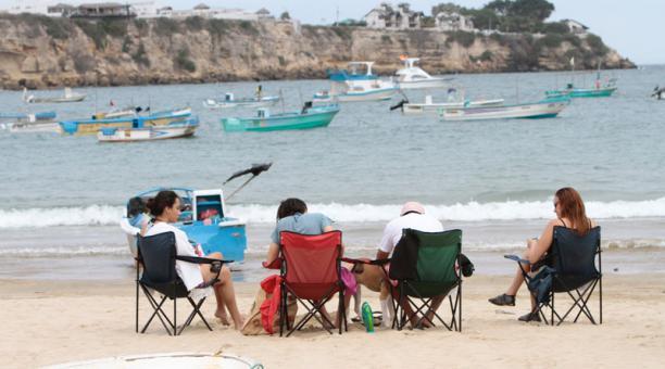 La playa de Ayangue. Foto: Archivo / EL COMERCIO