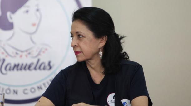 Rocío González fue llamada a rendir versión en el caso de las vacunas contra el covid-19. Foto: Julio Estrella/ EL COMERCIO.