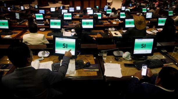 Foto referencial. Con 125 votos a favor y 1 abstención, el Pleno aprobó la resolución sobre carnets de discapacidad en la que dispone una investigación para Villamar, a través de una comisión multipartidista. La denuncia será presentada por Rodrigo Collag