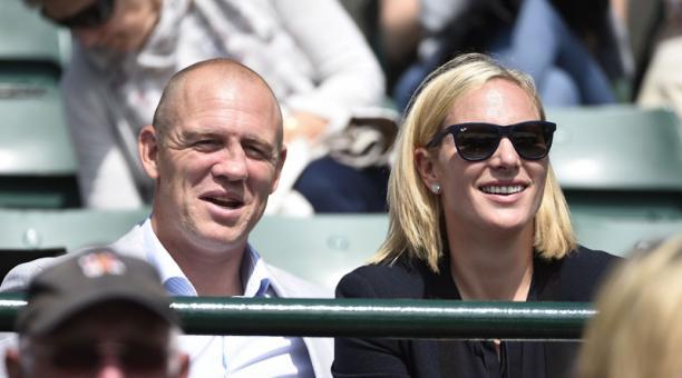 Zara Tindall y su esposo Mike Tindall anunciaron el nacimiento de su tercer hijo. Foto: EFE