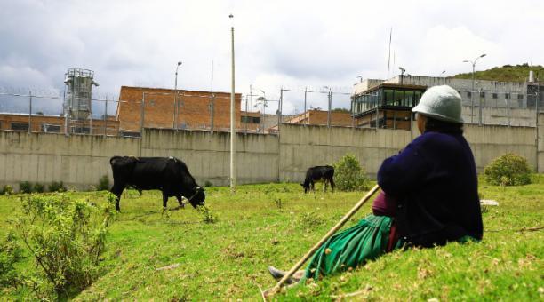 El Centro de Rehabilitación Social Turi está a 30 minutos del Centro Histórico de Cuenca. Foto: Lineida Castillo / El Comercio