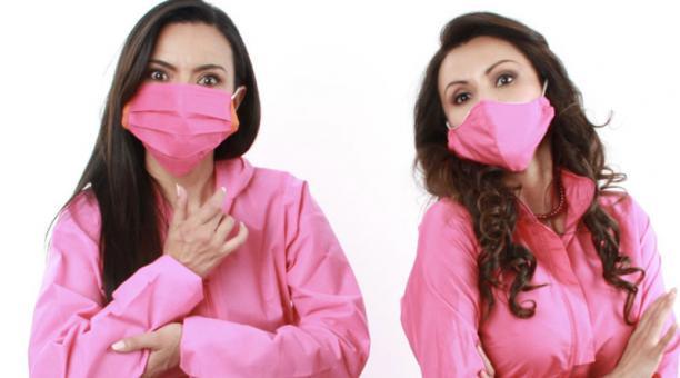 Marilú Vaca y Sonia del Cisne estarán juntas en escena en la obra 'Manual para seducir en pandemia'.