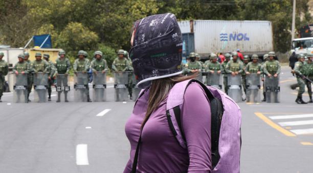 Militares se refirieron este 25 de marzo del 2021 al informe de la Defensoría del Pueblo sobre el paro de octubre del 2019. Foto: Archivo/ EL COMERCIO.