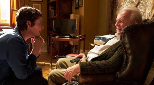 El actor Anthony Hopkins durante una escena de la película 'El padre', por la que está nominado al Oscar 2021 en la categoría de Mejor actor.  Foto: IMDB.