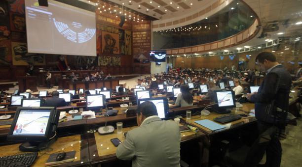 La Asamblea Nacional rechazó este 25 de marzo del 2021 una propuesta para retomar las sesiones presenciales. Foto: Archivo/ EL COMERCIO.