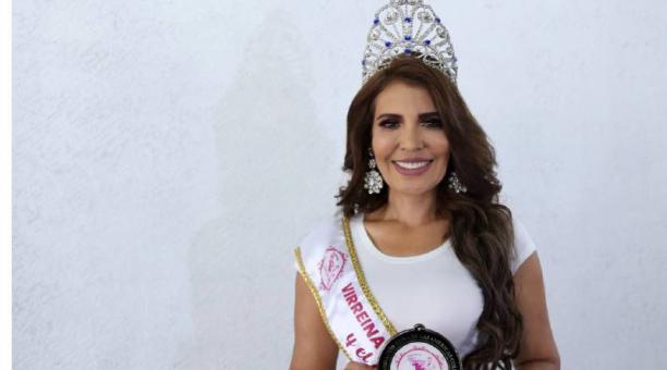 Kenia Castillo se impuso en la categoría Mejor Traje Típico en el concurso Reina de las Américas Colombia. Foto: Glenda Giacometti/ EL COMERCIO