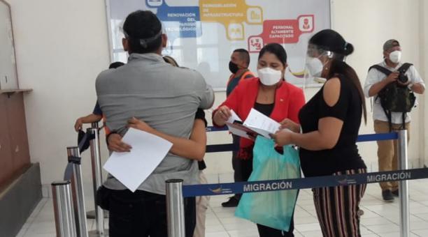Los familiares de Nahomy reportaron que la vieron por última vez a las 15:00 del martes 16 de marzo del 2021, cuando salió de su domicilio. Foto Twitter Consulado de Ecuador en Tumbes