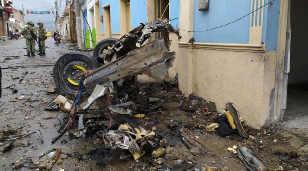 Colombia acusó este 27 de marzo del 2021 a disidentes de las FARC del atentado con un coche bomba en Corinto. Foto: REUTERS.