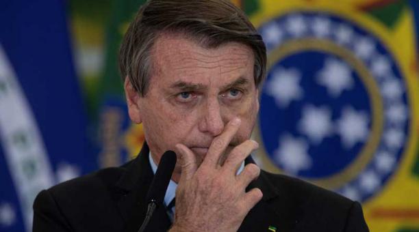 La jueza estableció una indemnización de 20 000 reales (unos USD 3 700) y además ordenó que Jair Bolsonaro pague los costos procesales y los honorarios de los abogados. Foto: EFE