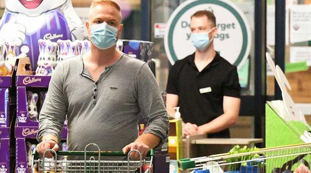 La ciudad australiana de Brisbane registró cuatro casos locales con la variante británica, considerada altamente contagiosa. Foto: EFE