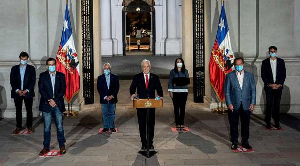 La propuesta del presidente Sebastián Piñera para cambiar la fechas de las elecciones debe ser ratificada por el Congreso Nacional. Foto: EFE