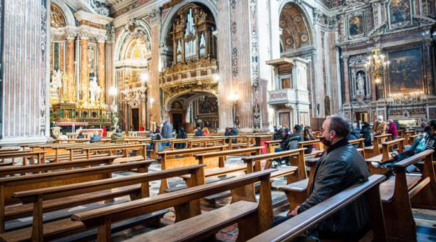 Imagen referencial. Un párroco italiano se negó a realizar la bendición de los ramos el Domingo de Ramos en protesta por no poder bendecir uniones entre personas del mismo sexo tras la emisión de un documento del Vaticano aprobado por el papa Francisco. F