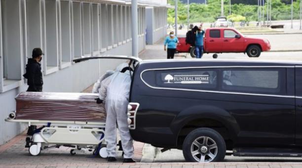 En Manabí, el 7,14% de las personas que se contagiaron de covid-19 falleció, según datos del Servicio de Gestión de Riesgos. Foto: El Diario (Manabí)