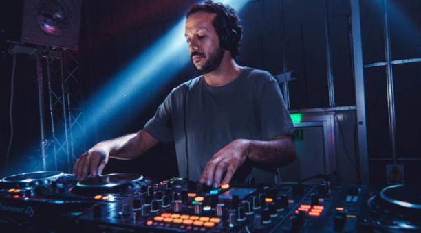 Diego Celi es parte de la organización del Festival Antena, que en el 2020 celebró su décima edición en modalidad virtual.Foto:cortesía Diego Celi